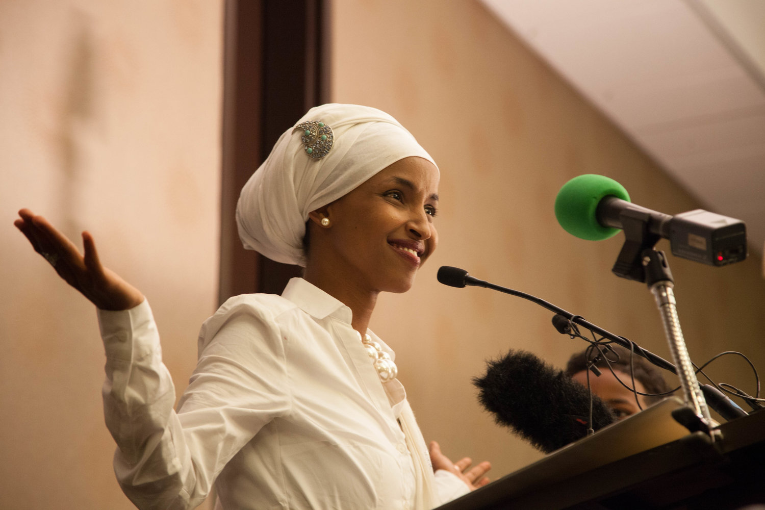 Minnesota state Rep Ilhan Omar won the Democratic primary on Tuesday for the states 5th Congressional District putting her on a path to make history